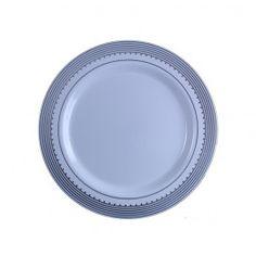 China-Like Gold Princess Trim 7.5'' Plates - 10 Per Package