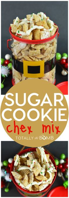 Sugar Cookie Chex Mix
