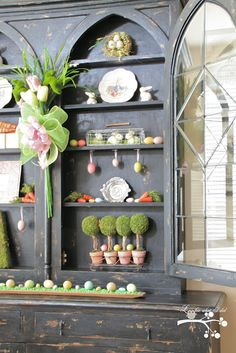 Cute Easter Decor from a really cute Blog!!