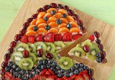Fruit Pizza by SugarHero!