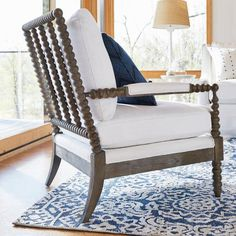 Miller Bobbin Accent Chair