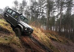 Off road driving - this is no school run!