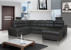 Cordoba - corner sofa bed for sale Corner Sofa Bed Leather, Black Corner Sofa, Corner Sofa Bed With Storage, Couch L Form, Sofa Bed Dimensions, Sofa Italia, Blue Velvet Dining Chairs, Toddler Table And Chairs, Italian Sofa