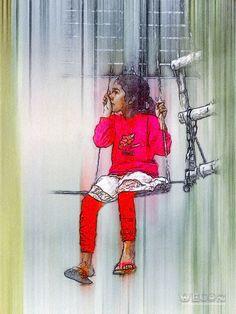 BONU - Sketch Painting by Rajjib Hassan
