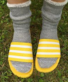 Slide Rule, Slide Sandals, Socks, Sandals, Sock, Stockings, Ankle Socks, Hosiery