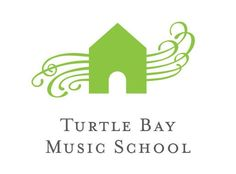 Turtle Bay Music School logo by Javier Romero, JRDG.com