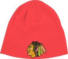 Chicago Blackhawks YOUTH Knit Cap by Reebok | Sports World Chicago $12.95