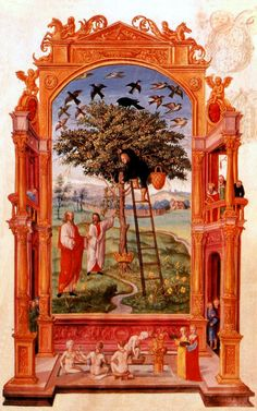 Splendor solis- Philosophers beside tree