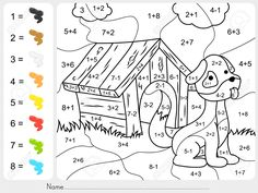 60530798-Paint-color-by-addition-and-subtraction-numbers-Worksheet-for--Stock-Photo.jpg (1300×975)