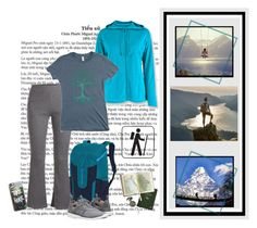 """""""Hiking on the Mountain"""" by valc5 ❤ liked on Polyvore featuring White Sierra, Patagonia, Pieces, NIKE and Casetify"""