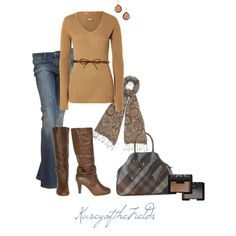 Viviennewestwood Plaid Purse and Tall Boots :)
