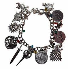 Somedays you need a kick___ reminder. Game of Thrones Charm bracelet. http://www.amazon.com/Thrones-Silvertone-Theme-Charms-BRACELET/dp/B018A4YP58/ref=as_sl_pc_tf_til?tag=serendripple-20&linkCode=w00&linkId=96f9831f7128fd0f941ec55d94ef4389&creativeASIN=B018A4YP58