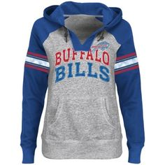 Buffalo Bills Ladies Huddle V-Neck Hoodie  I WANT THIS! Let's see if my BF gets it for me