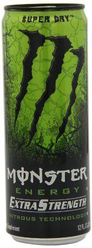 Monster Energy Extra Strength Drink, Super Dry, « Blast Grocery