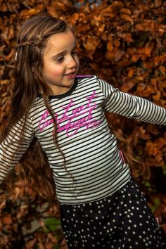 DJ Dutchjeans #longsleeve #LoveLA. Superleuk in combinatie met het stippelrokje Love LA. Bekijk het hier: http://www.ikbenzomooi-baby-kinderen-kleding.nl/dj-dutchjeans-gestreepte-longsleeve-love-la.html.