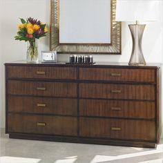 Crestaire - Southridge Dresser in Porter - 436-13-06 - Bedroom - Stanley Furniture - modern furniture