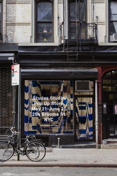 etudes-studio:  NEW YORK - Études Studio is hosting their first Pop Up Store in NYC. Études Studio will be featuring the SS14 Collection, Books, and Music in a temporary space located on 254 Broome St. The shop will create an entire Études experience, including an Open Studio along with the Pop Up by installing their headquarters at the location. Études NYC Pop Up StoreMay 21st - June 21st254 Broome StNew York, NY (c) Dustin Aksland