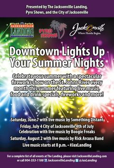 5f58b630013 Downtown Lights Up Your Summer Nights Jacksonville