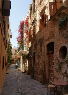 Old Town - Chania, Crete island.
