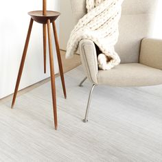 Don't be afraid to use a light floor mat, our flooring is so easy to clean!