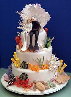 my wedding cake!  (just kidding)