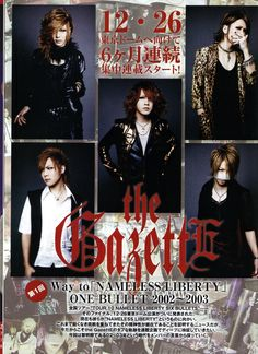 the GazettE - Fool's Mate 2010.09