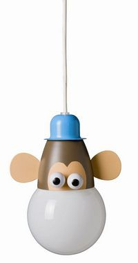 Monkey (Ceiling), Ceiling Lights, Globug - Kids & Home Lighting Plug In Pendant Light, Pendant Lighting, Mini Pendant, Kids Lighting, Home Lighting, Lighting Design, Kids Lamps, Copper Lamps, Contemporary Pendant Lights
