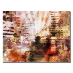 Trademark Fine Art Adam Kadmos 'City Impression' Canvas Art
