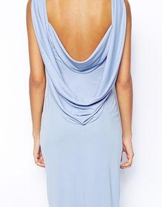 Image 3 ofASOS Cowl Back Maxi Dress