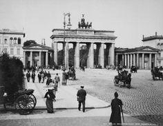um 1900 Berlin - Brandenburger Tor