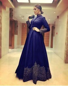 Buy Blue Taffeta Silk Embroiderd Salwar Suit at happydeal18.com, India's biggest shopping store