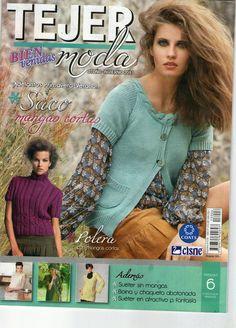 Butterfly Creaciones: revista bienvenidas tejer la moda