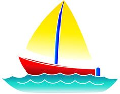 cartoon boats images free sailboat clip art image cute little rh pinterest com sailing clipart gif sailing clip art photographs