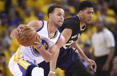 Blog Esportivo do Suíço: Pelicans endurecem, mas Warriors vencem novamente e abrem 2 a 0