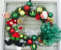 I just listed Christmas Elf Wreath/ON SALE on The CraftStar @TheCraftStar #uniquegifts