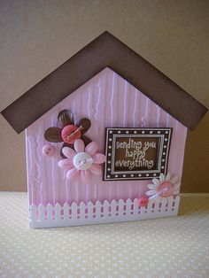 happy everything cottage card by donna mikasa, via Flickr