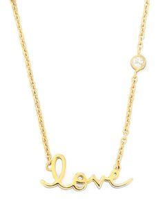 http://fave.co/1ivPb05 SHY by Sydney Evan Love Pendant Bezel Diamond Necklace - Neiman Marcus