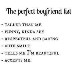 Perfect Boyfriend 151152131224594073 - We have 10 relationship quotes and sayings for all the relationship lovers. If you are not in a relationship, you can still appreciate the love from these quotes. Cute Relationship Goals, Cute Relationships, Sweet Relationship Quotes, Christian Relationship Quotes, Boyfriend Quotes Relationships, Relationship Questions, Relationship Pictures, Couple Relationship, Perfect Boyfriend List