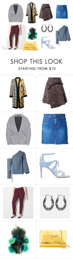 """fashion clear"" by kristen-stewart-2989 ❤ liked on Polyvore featuring FAUSTO PUGLISI, Carven, Balmain, Nobody Denim, Solace, Chloe Gosselin, Avenue, Burberry and Giuseppe Zanotti"