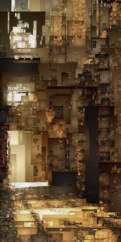 Streets Of Gold Digital Art by David Hansen