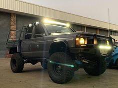 @tidygq - - - #Nissan #patrol #GQ #td42 #soot #td42crew #4x4 #4wd #4x4_engaged #camping #offroad #wheeling #4wdaction #flex #travel… Nissan 4x4, Nissan Trucks, Custom Ute Trays, Nissan Patrol Y61, Patrol Gr, Dodge Dakota, Four Wheel Drive, Future Car, Dream Garage