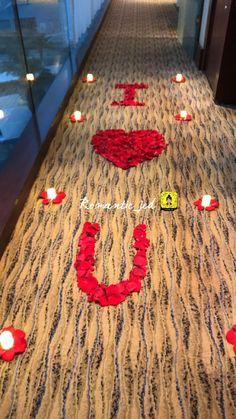 Romantic Room Surprise, Romantic Birthday, Romantic Gifts, Romantic Valentines Day Ideas, Romantic Date Night Ideas, Valentines Diy, Romantic Room Decoration, Romantic Bedroom Decor, Anniversary Decorations