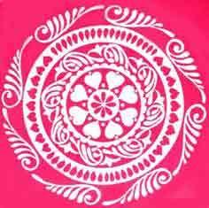 Alpana Designs | Bengali Alpana | Bengali Alpana Designs - Important India