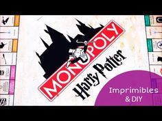 Imprimibles del Monopoly de Harry Potter (en español) + DIY 🎄⚡️ I Crafta. Harry Potter Gif, Monopoly Harry Potter, Harry Potter Fiesta, Always Harry Potter, Mundo Harry Potter, Harry Potter Halloween, Imprimibles Harry Potter, Diy, Board Games