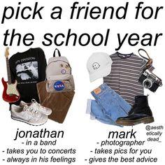 Jonathan but I like marks aesthetic better Hipster Outfits, Cool Outfits, Fashion Outfits, Fashion Trends, Aesthetic Fashion, Aesthetic Clothes, Mode Grunge, Estilo Grunge, Pics Art