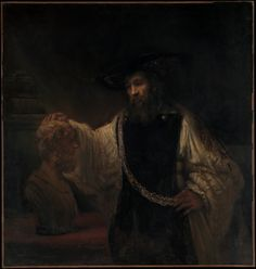 Aristotle With A Bust Of Homer by Rembrandt van Rijn, Oil On Canvas, Metropolitan Museum Of Art, New York Size: x Gender: unisex. Johannes Vermeer, Oil On Canvas, Canvas Art, Canvas Prints, Art Prints, Canvas Paintings, Caravaggio, Rembrandt Paintings, Design Your Own Poster
