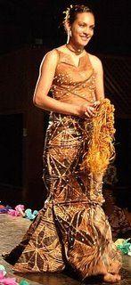 tapa wedding dress