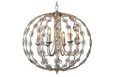 Home Accents Crystal Drop Chandelier | Ashley Furniture HomeStore