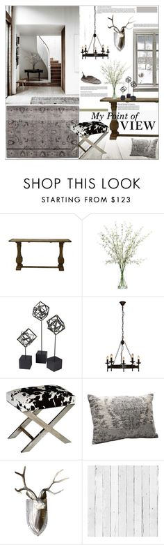 """My Point of View"" by szaboesz ❤ liked on Polyvore featuring interior, interiors, interior design, home, home decor, interior decorating, Theo & Joe, Lux-Art Silks, DwellStudio and KARE"