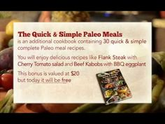 Caveman Diet - Paleo Diet Recipes - Paleo Cookbook - http://www.paleodietdigest.com/paleo-diet-recipes/caveman-diet-paleo-diet-recipes-paleo-cookbook/